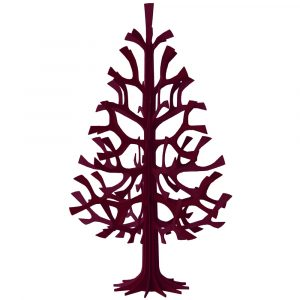 Lovi spruce tree dark red