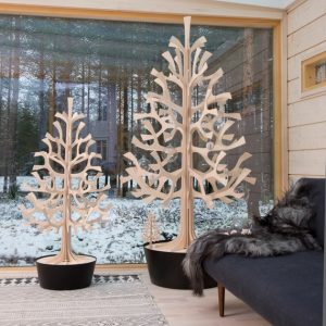 Lovi spruce tree natural wood