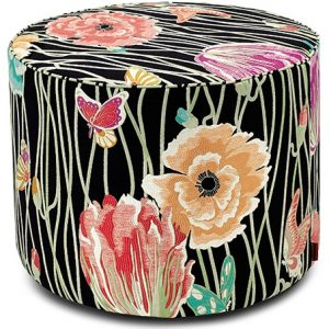 Missoni Home cylinder pouf Valmadrera 160