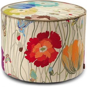 Missoni Home cylinder pouf Vancouver 100
