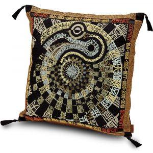 Missoni Home embroidered cushion Oroscopo