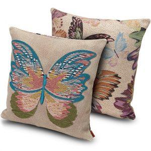 Missoni Home cushion Vermilion 164