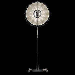 Fortuny Atelier 63 floor lamp silver leaf