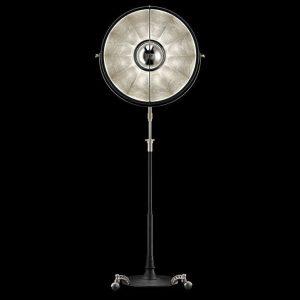 Fortuny Atelier 63 floor lamp silver leaf