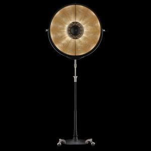 Fortuny Atelier 76 floor lamp gold leaf