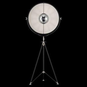 Fortuny Studio 76 floor lamp black - white
