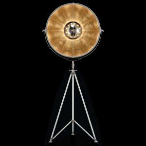 Fortuny Studio 76 floor lamp white - gold leaf