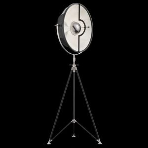 Fortuny Studio 63 floor lamp black - white