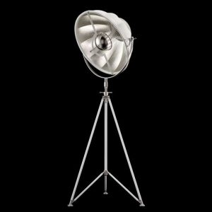 Fortuny Studio 63 floor lamp white - silver leaf