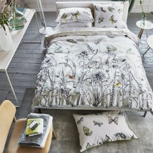 Designers Guild bed linen Papillons Birch