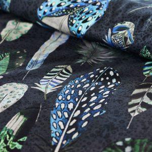 Designers Guild bed linen Quill Cobalt