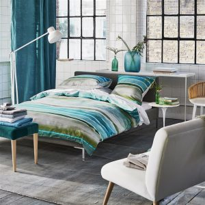 Designers Guild bed linen Vallauris Duck Egg