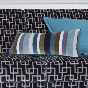 Designers Guild cushion Lambusa Celadon