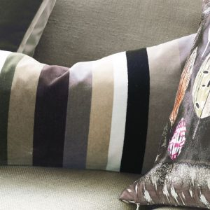 Designers Guild cushion Lambusa Graphite
