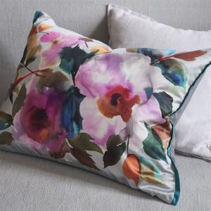 Designers Guild cushion Surimono Berry