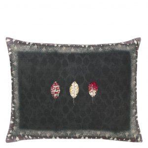Designers Guild cushion Tulsi Aubergine