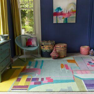 Bluebellgray rug Amal