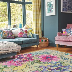 Bluebellgray rug Ines Jardin