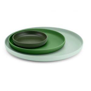 Vitra Trays green, set of 3