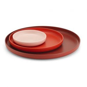 Vitra Trays red, set of 3