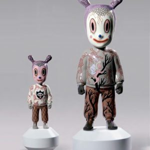 Lladró sculpture The Guest by Gary Baseman - large