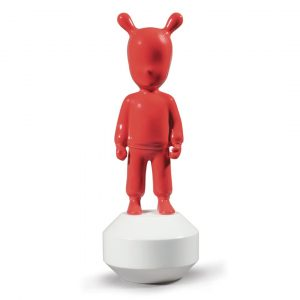 Lladró sculpture The Guest small red