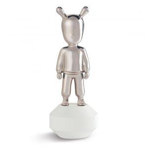 Lladró sculpture The Guest small silver