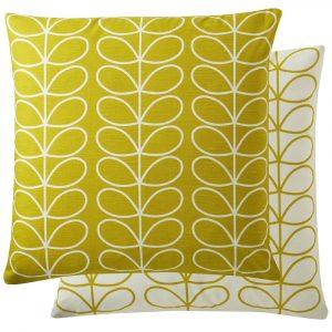 Orla Kiely cushion Small Linear Stem Sunflower