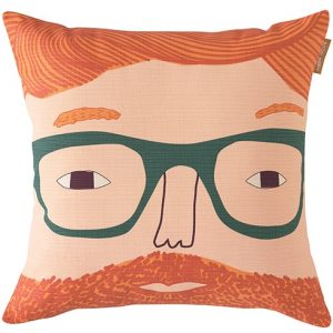Donna Wilson cushion Ginger Man