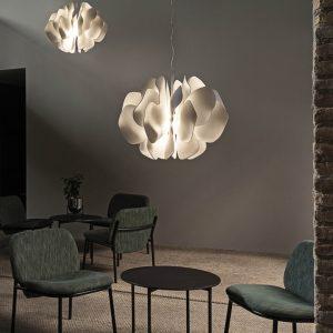 Lladró hanging lamp Nightbloom by Marcel Wanders