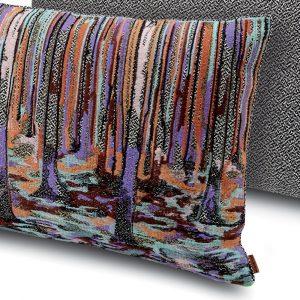 Missoni Home embroidered cushion Wangs 164