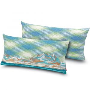 Missoni Home embroidered cushion Wimille 174