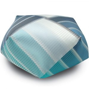 Missoni Home diamond pouf Wells 174