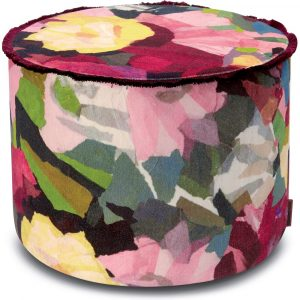 Missoni Home cylinder pouf Wight