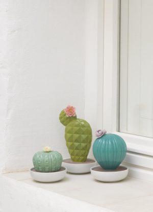 Lladró aroma diffuser Opuntia Cactus
