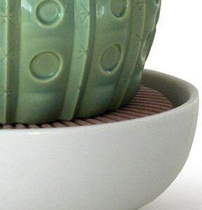 Lladró aroma diffuser Astrophytum Cactus