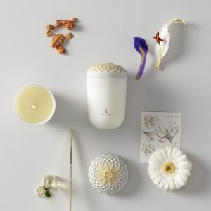 Lladró scented candle Echoes of Nature Tropical Blossoms