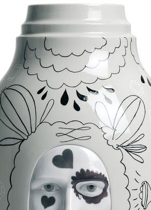 Lladró Conversation Vase II