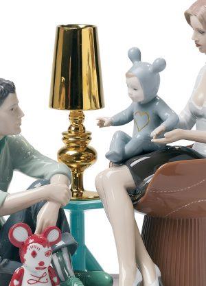 Lladró sculpture The Family Portrait