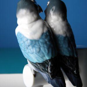 Lladró plate Parrot Love