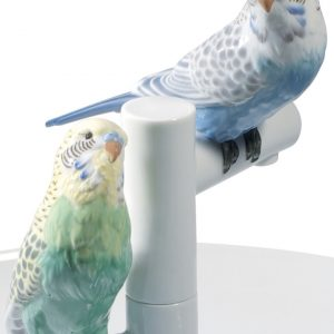 Lladró plate Parrot Romance