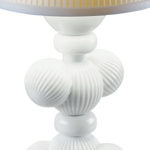Lladró table lamp Cactus Firefly white
