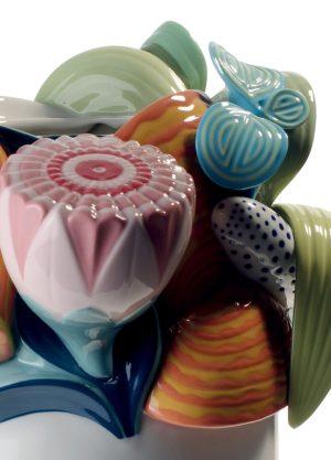 Lladró vase Naturofantastic multicolor
