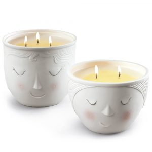 Lladró scented candle Better Together Lee and Lane - set of 2