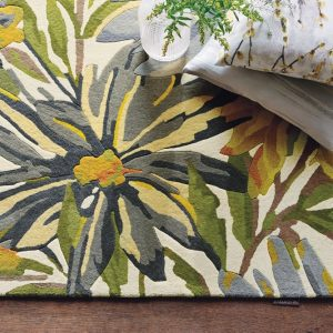 Harlequin rug Floreale Maize