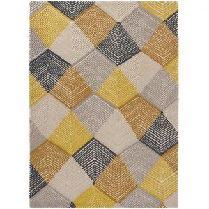 Harlequin rug Rhythm Saffron