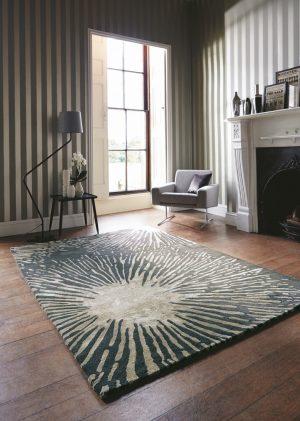 Harlequin rug Shore graphite