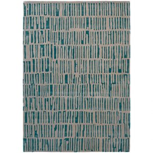 Harlequin rug Skintilla Kingfisher