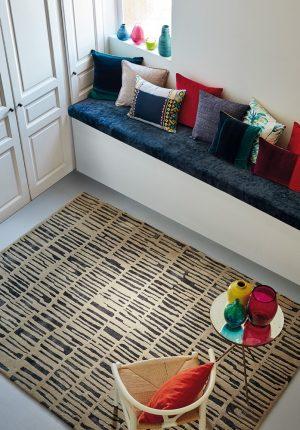 Harlequin rug Skintilla Midnight