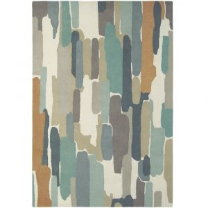 Harlequin rug Trattino Sea Glass